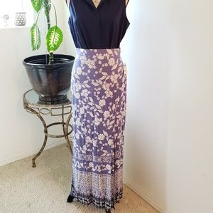 NEW Charlotte Russe Maxi Skirt with Slit